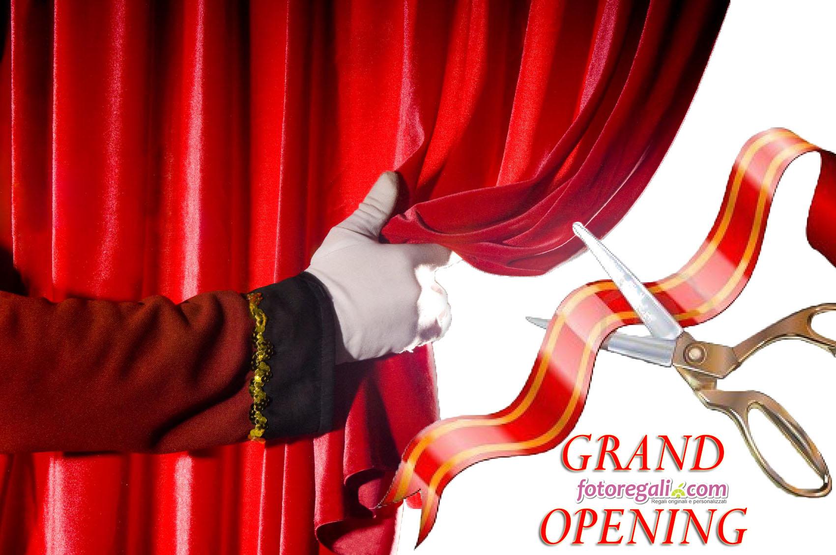 apertura grand opening