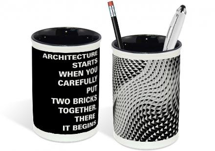 portapenne architettura
