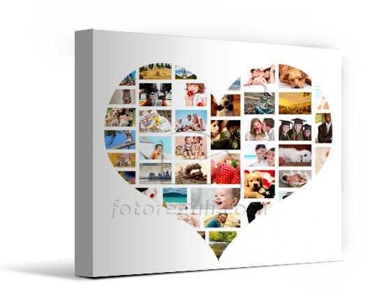 Cuore Foto Collage