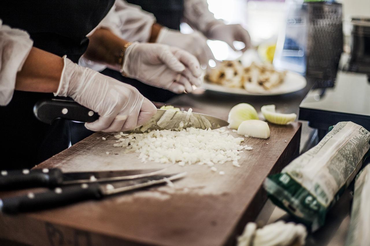 preparazione ristorante