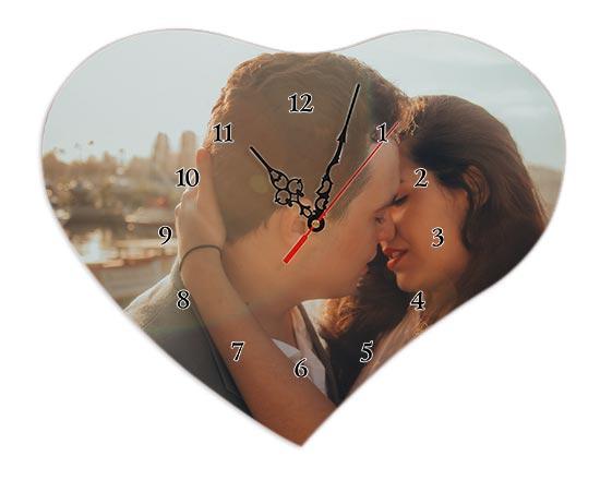 foto su orologio cuore