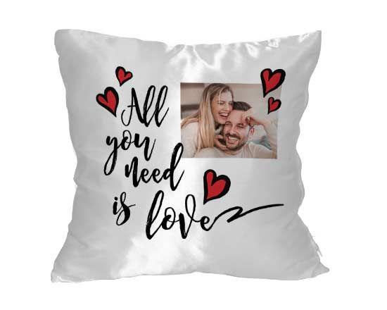 cuscino personalizzato per anniversario