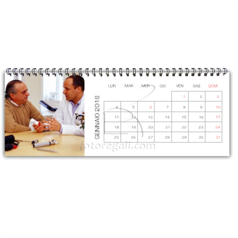 calendario da scrivania