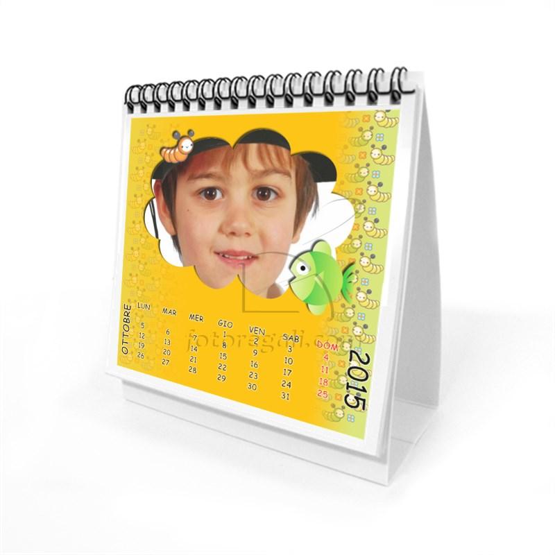 stampa calendario tavolo bambino