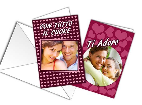 Personalizza card augurali con foto e grafiche