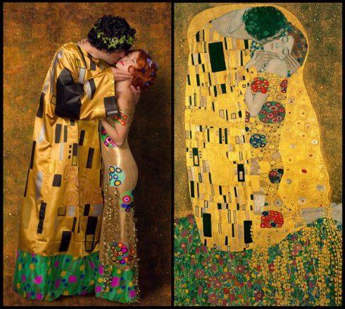 Riproduci il Bacio di Klimt