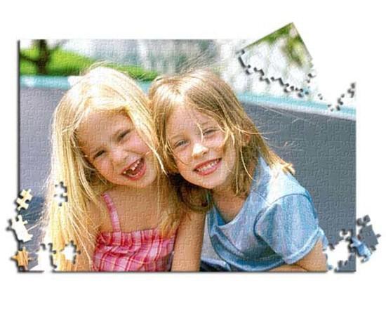 Bimbe che sorridono in foto puzzle