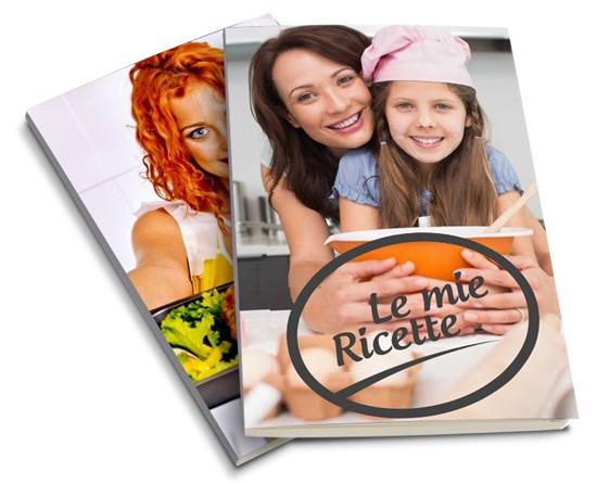 ricettario con copertina personalizzata
