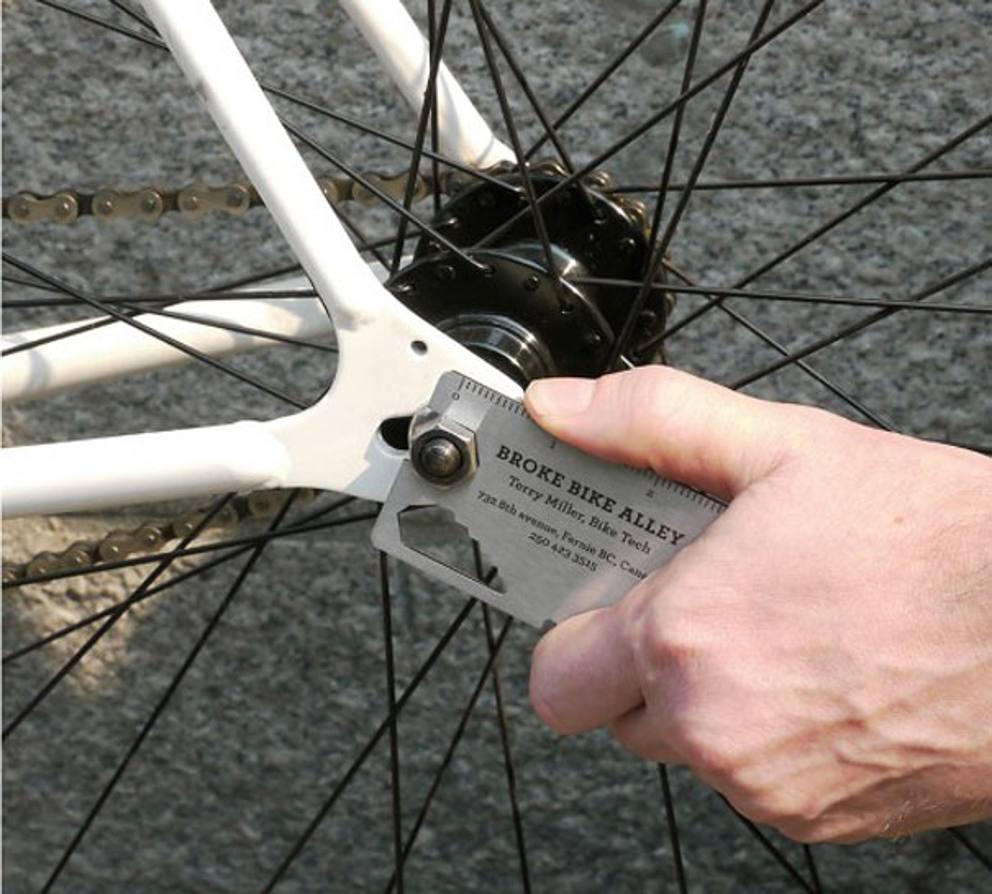 Biglietto da visita riparazione bici