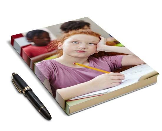 diario personale con copertina personalizzata
