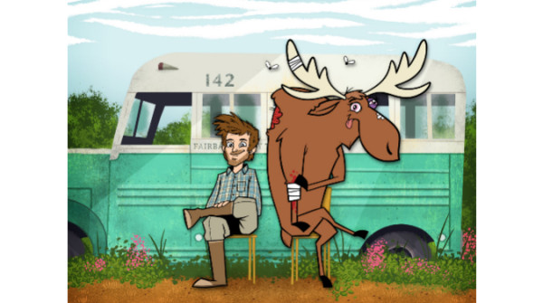 Film a fumetti - Into the wild