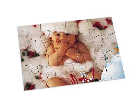 puzzle magnetico rettangolare da regalare a Natale