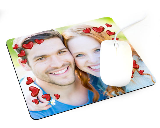 mousepad personalizzato san valentino