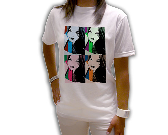 maglietta a maniche corte personalizzata