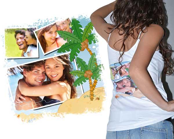 canotta personalizzata e stampe su magliette