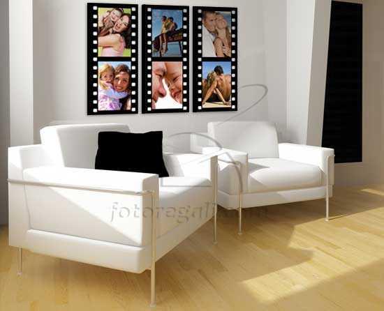 effetto cinema su tela