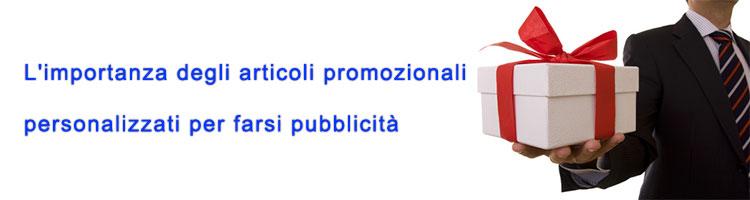 articoli promozionali personalizzati