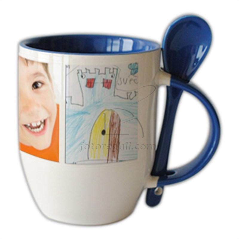 bambini - opere d'arte - foto -su- tazza