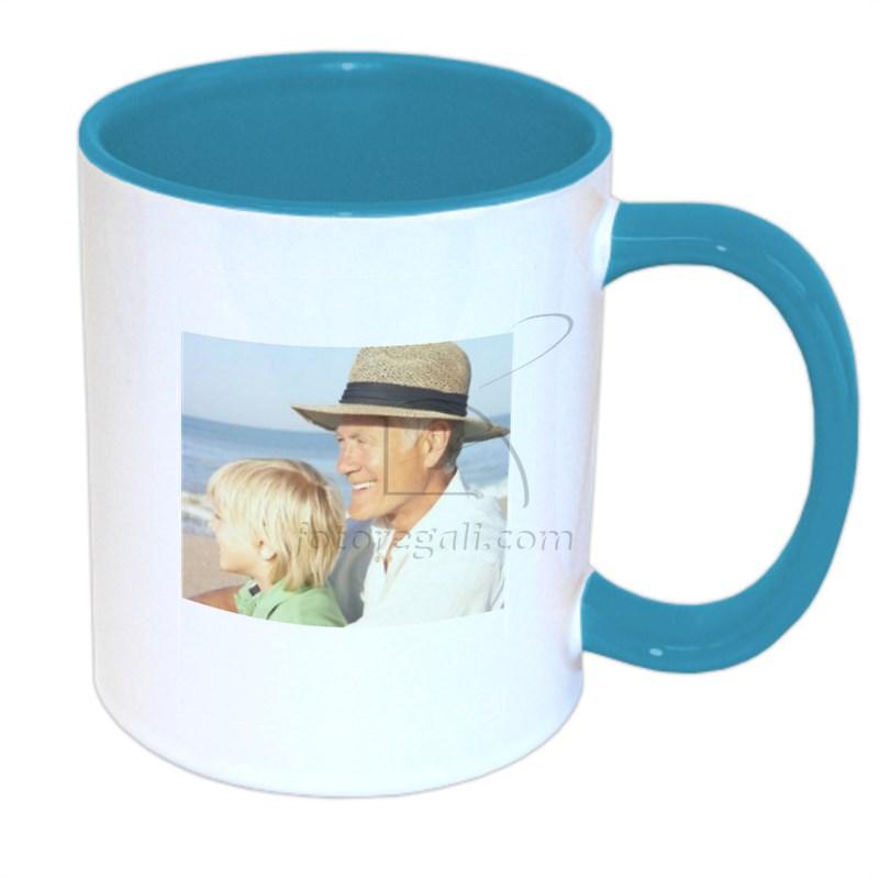 foto su tazza personalizzata per i nonni