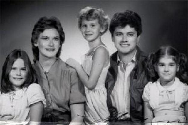 vecchie fotografie di famiglia