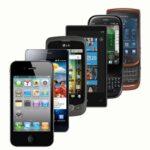 diversi modelli di smartphone