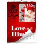 calendario multipagina personalizzato con foto