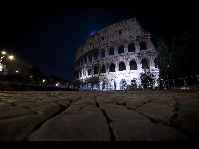scattare foto di notte scegliere giusta angolazione