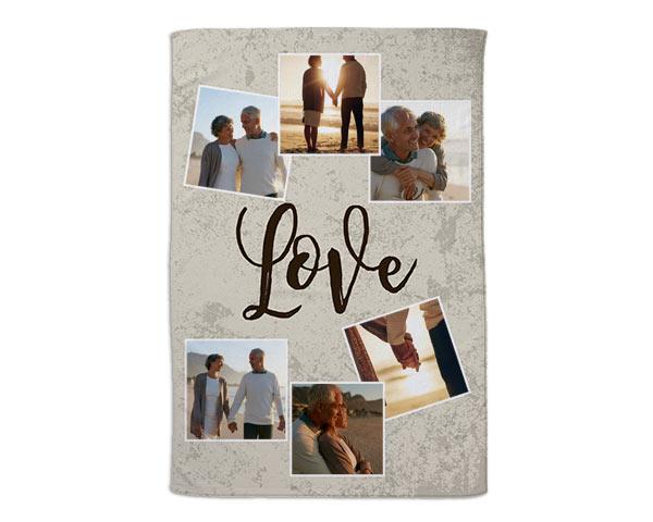 coperta san valentino personalizzata