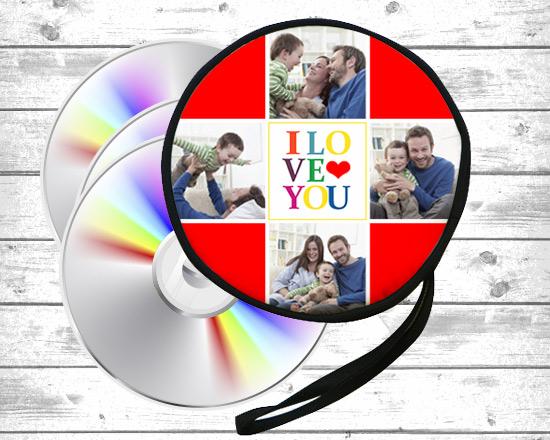 porta cd personalizzato