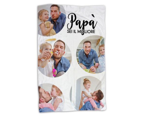 coperta personalizzata festa del papà