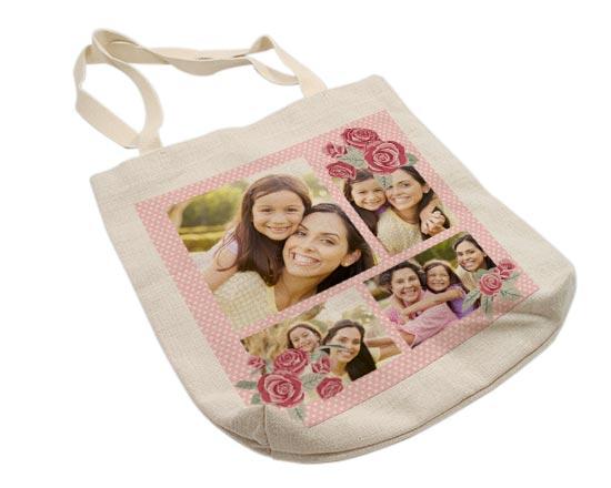 shopper personalizzata per la festa della mamma