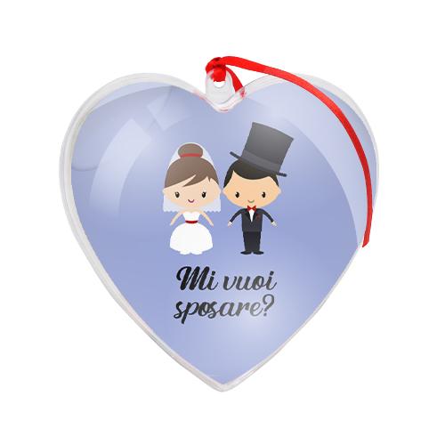 palla di natale grafica mi vuoi sposare