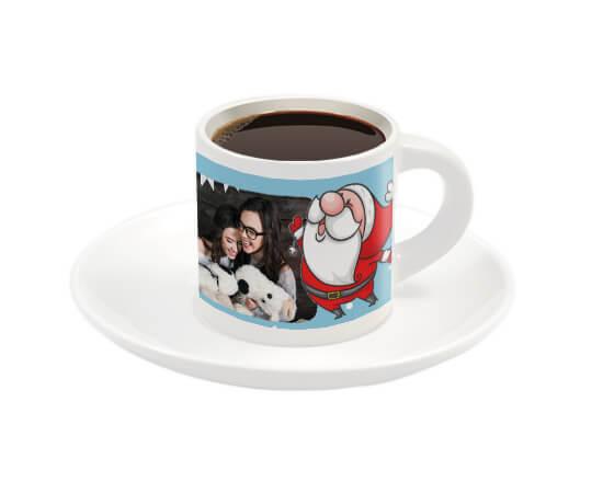 tazzina da caffè personalizzata con foto e grafica