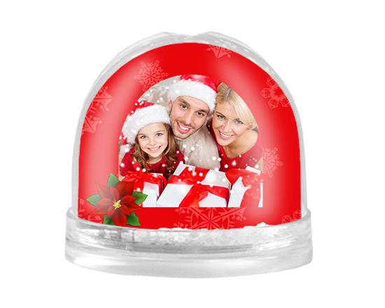 palla di neve personalizzata